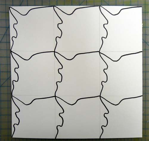 17 best images about tessellation on pinterest for Tessellating shapes templates
