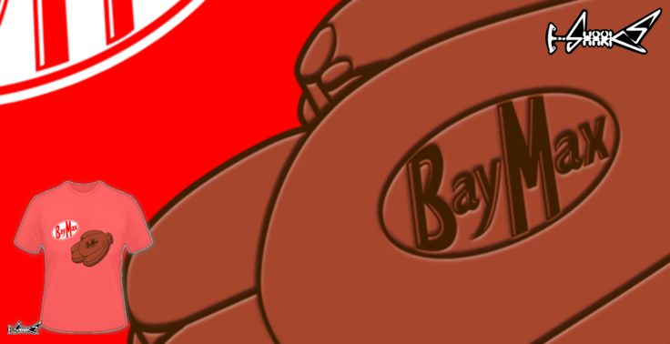 T-shirts - Design: baymax choco - by: Boggs Nicolas