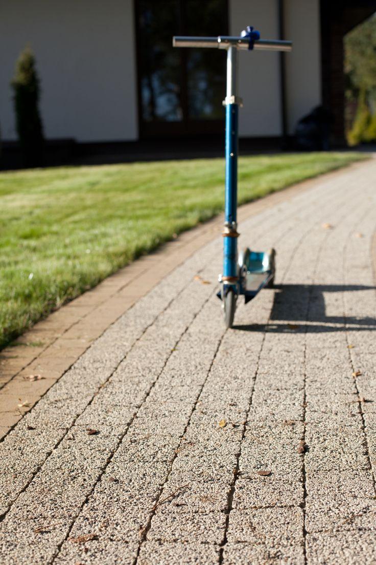 Polbruk Avanti o trapezowym kształcie - idealne na #ścieżki i małe przestrzenie www.polbruk.pl #trapez #kostka brukowa #Polbruk