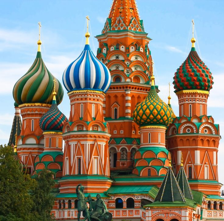 Saint Basil's Cathedral, Moscow, Russia.  #travel