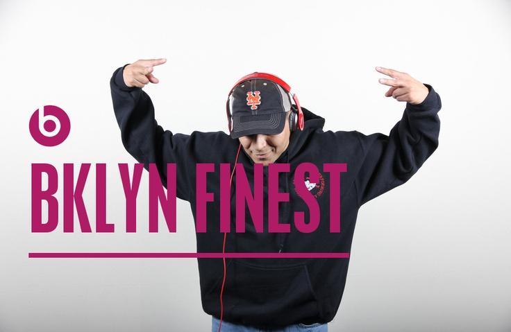 Brooklyn's Finest (me) rocking Beats by Dre.