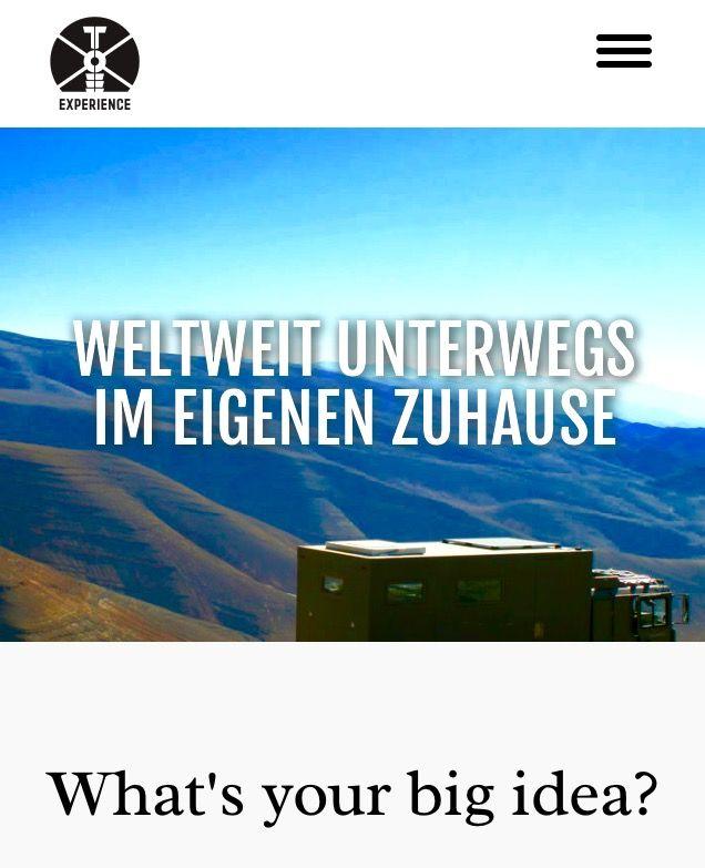 Expeditionsmobilbau toe-experience.com Expeditionsmobilbau/ Welt- Reisemobile