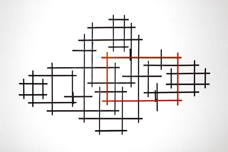 Rectangulation by Karo Martirosyan (Metal Wall Sculpture) | Artful Home