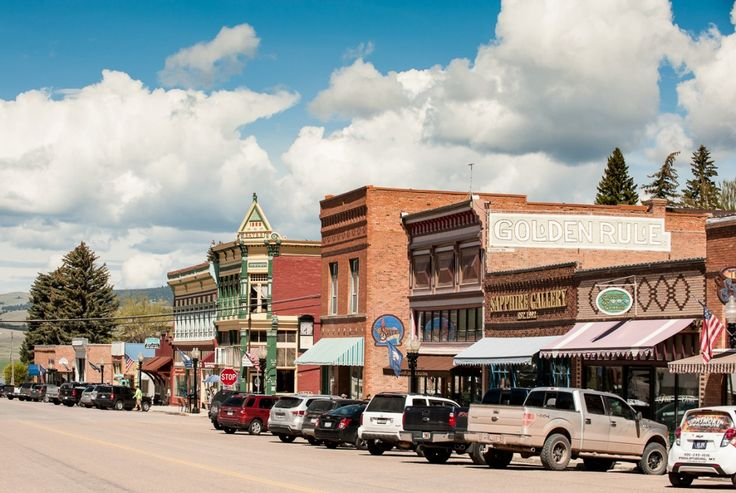 Best Small Town in Montana is Philipsburg, Montana