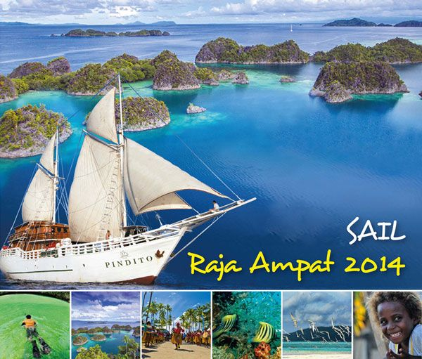 Sail Raja Ampat http://indonesia.travel/id/event/detail/871/sail-raja-ampat-2014