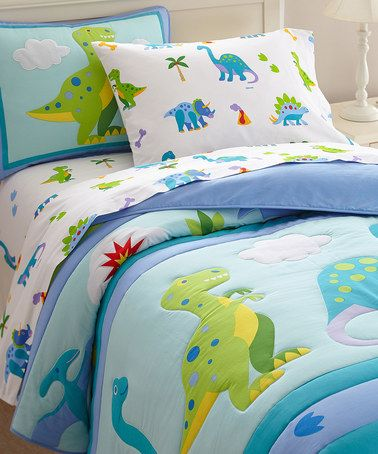 Another Great Find On Zulily Dinosaur Land Comforter By