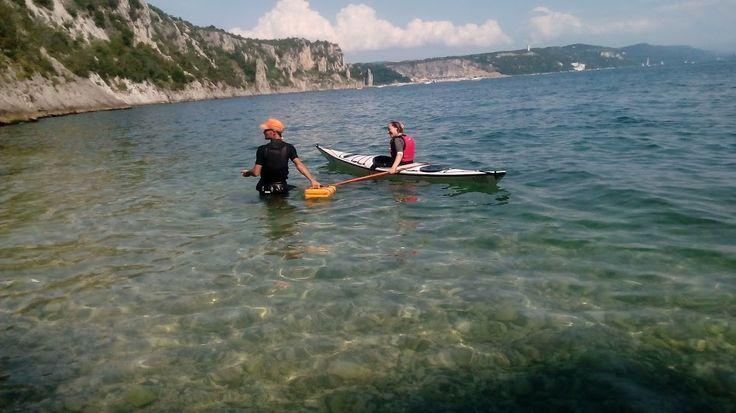 Al via i Corsi Base di Kayak da Mare SOTTOCOSTA 2015!