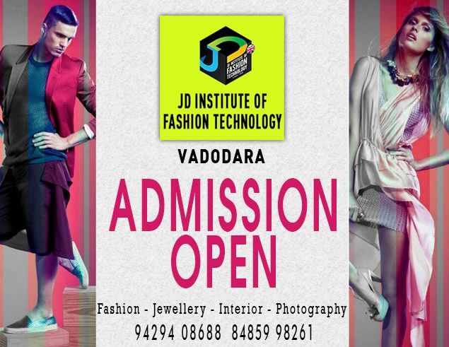 JD Institute of Fashion Technology Vadodara welcomes for  #fashiondesign , #interiordesiging , #fashionphotography