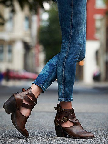 Free People Overholt Ankle Boot. my perfect cutout ankle boot. get ready wallet.