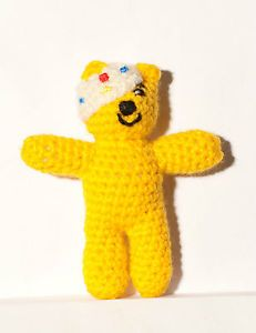 Pudsey Bear Knitting Pattern : Minis, The ojays and Handmade on Pinterest