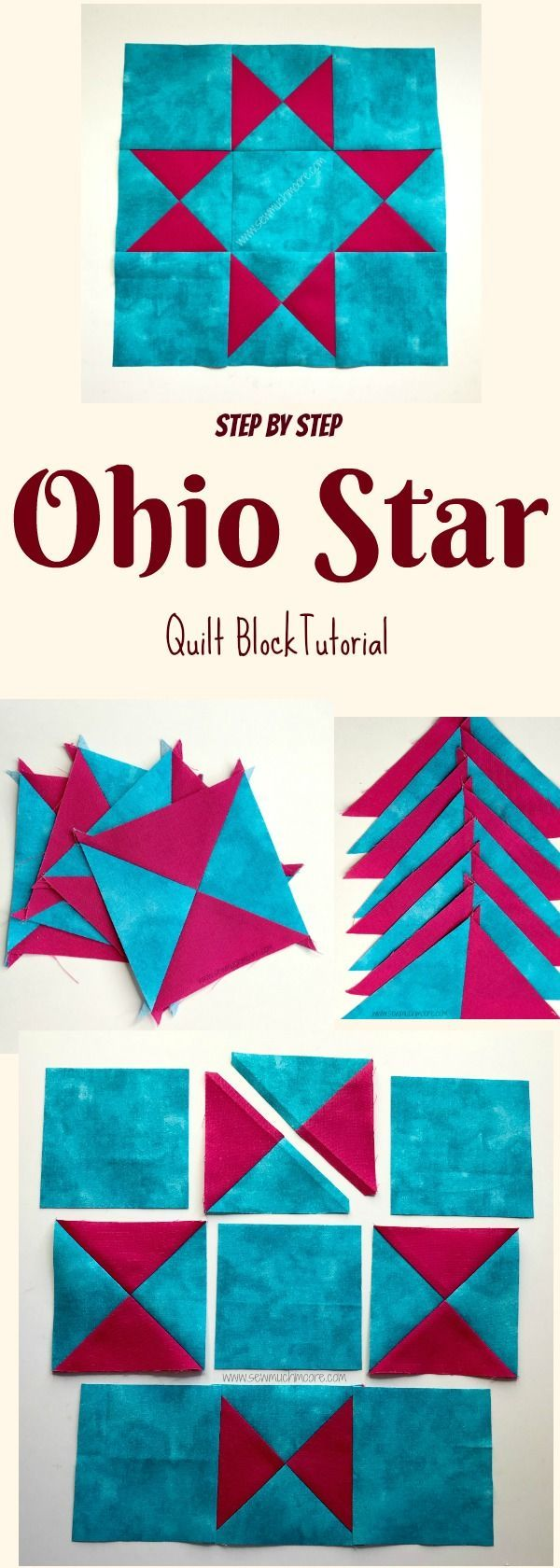 This step-by-step quilt block tutorial is the perfect project! Even a free pattern to get you inspired and sewing! DIY
