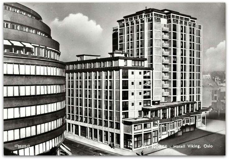 Oslo Hotell Viking 1950-tallet Utg Mittet