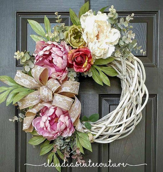 Summer WreathHydrangea WreathFrosty WreathElegant