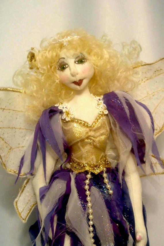 E PATTERN to make ALURA hanging fairy 35 cm 14 by michelledolls