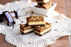 healthy homemade snickers