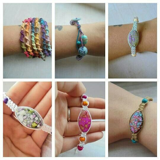 I love how colorful my hemp macrame friendship bracelets are. I can't stop making them.  Come and take a look at our unique selection of handmade gifts.