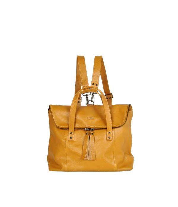 Saara Backpack Cognac SS15 | Lumi Accessories  www.shoplumi.com