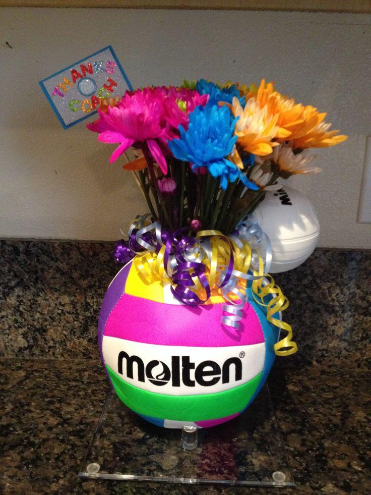 Volleyball Flower Bouquet Want Pinterest Flower Bouquets Flower And Volleyball