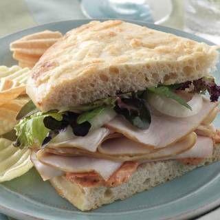 Copycat Panera Bread Cafe's Sierra Turkey Sandwich