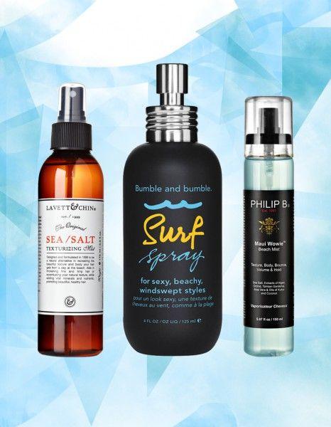 Pour celles qui ne sont pas au bord de la mer mais qui aimeraient obtenir une coiffure « sortie de plage », voici notre sélection des dix meilleurs surf sprays du moment. Ils s'appliquent sur cheveux humides ou secs et aident à créer cette fameuse chevelure wavy de surfeuse qu'on adore. http://www.elle.fr/Beaute/Cheveux/Coiffure/Les-10-meilleurs-sprays-sales-pour-un-volume-naturel-et-sexy