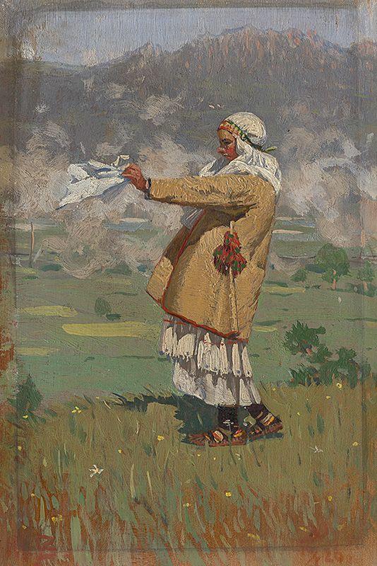 Joža Úprka - Čičmanka v kroji