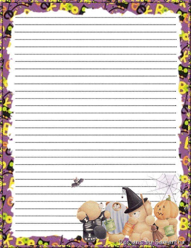 110 besten Printable Lined Writing Paper Bilder auf Pinterest ...