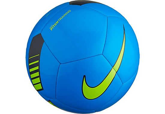Hot in Photo Blue. Buy the Nike Pitch Training Soccer Ball. Shop at www.soccerpro.com
