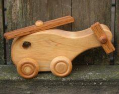 Camión de madera Semi  madera por WoodToyShop en Etsy