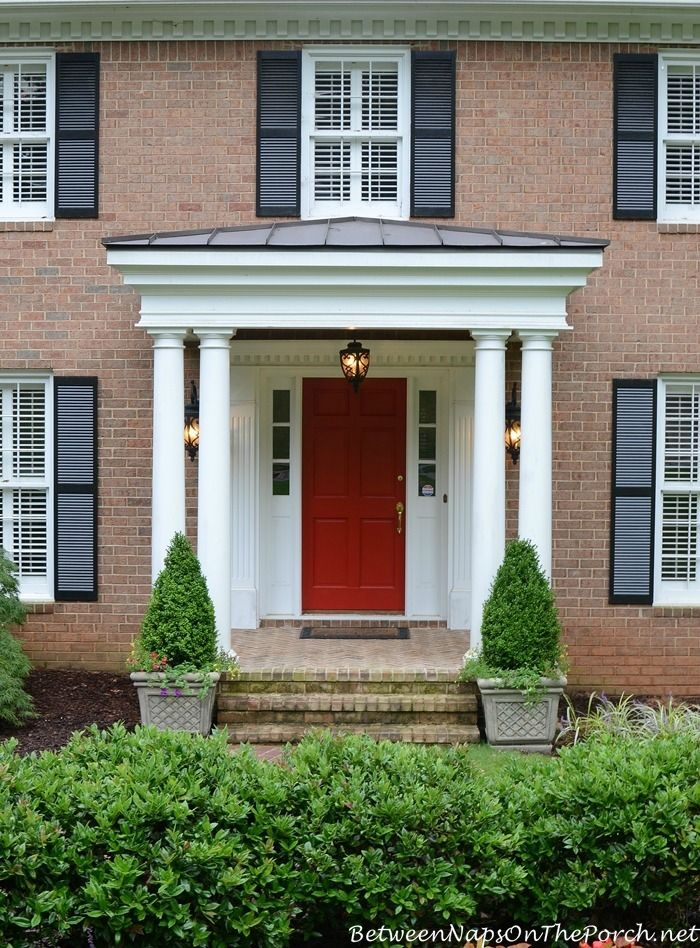 25 Best Ideas About Small Front Porches On Pinterest