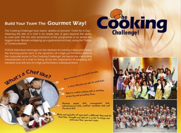 Is your inner chef ready for the Cooking Challenge? Learn teambuilding the gourmet way!!  http://www.focusadventure.in/cooking-challenge.aspx