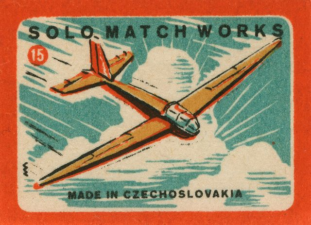 czechoslovakian #matchboxlabel To Order Your Business' own branded #Matchboxes call 800.605.7331 or GoTo: www.GetMatches.com. Today!