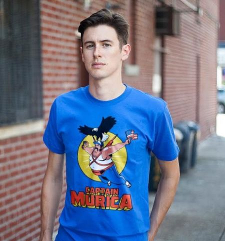 CAPTAIN MURICA T-Shirt - USA T-Shirt is $10 today at Busted Tees!