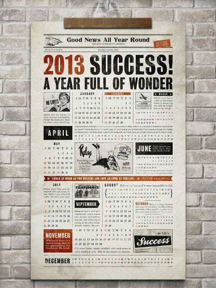 インスピレーションが刺激されるちょっと変わった2013年カレンダーいろいろ - GIGAZINE