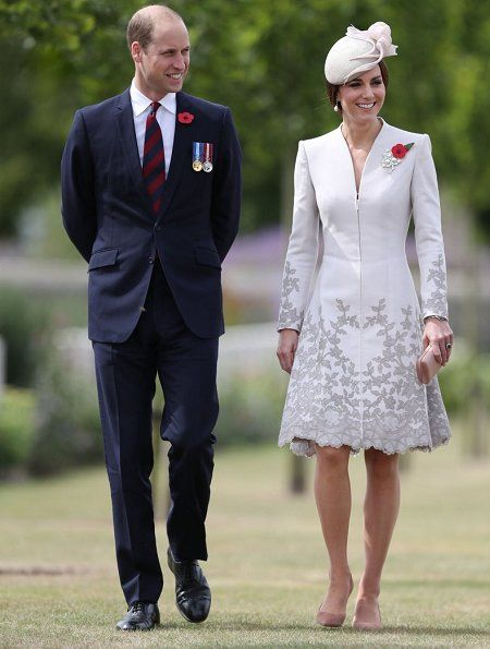 Prince William and Duchess of Cambridge attend the commemorations at the Tyne Cot Commonwealth War Graves Cemetery in Ypres, as part of a series of commemorations for the 100th anniversary of the Battle of Passchendaele. 31 Jul 2017