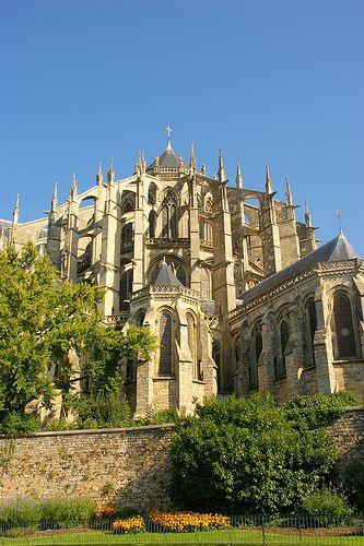 St Julien Cathedral - Le Mans, France