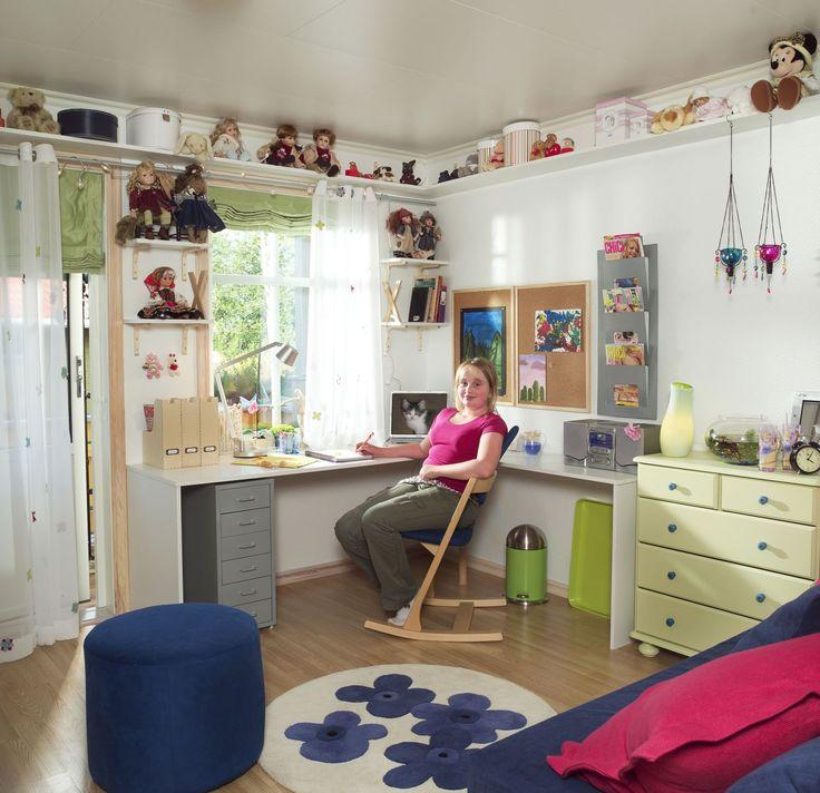 Fra barnerom til tenringsrom