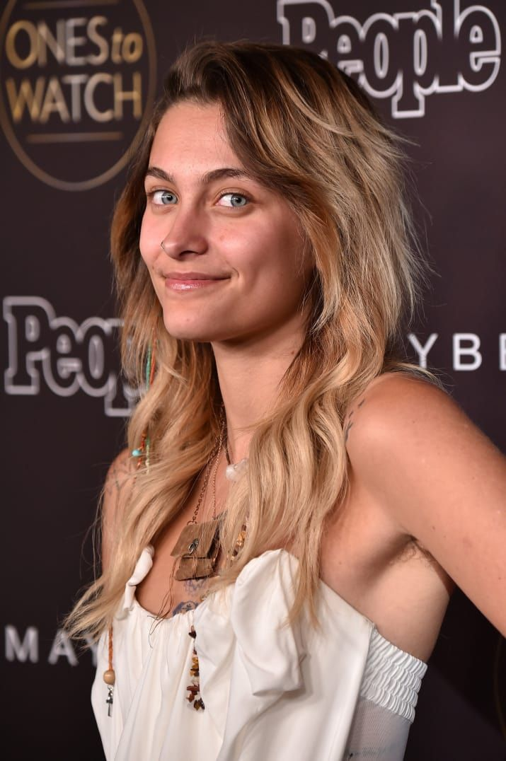 Paris Jackson Just Rocked A Carpet Makeup-Free With Unshaved Armpits