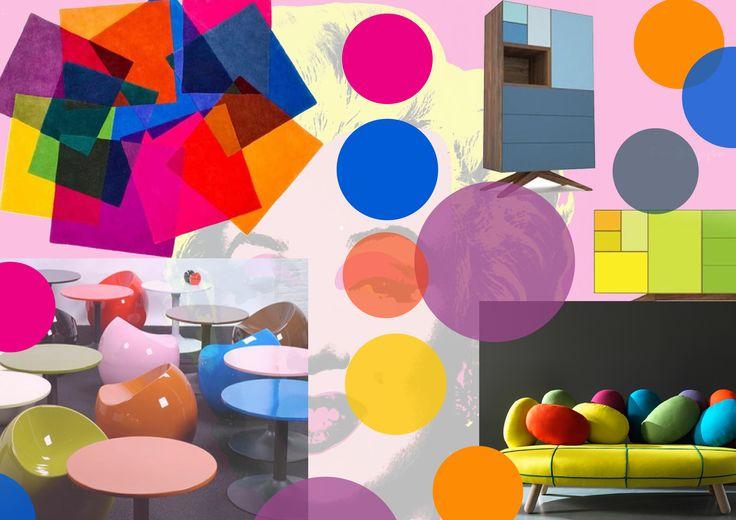 #POPART  Per chi desidera la propria #casa coloratissima e vivace, questo è lo #stile ideale!!!