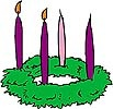 Children Prayers for use w/advent wreath (I printed this out years and years ago - love!)