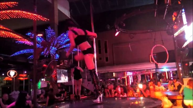 Pole Dance Crazy Horse Circus Bangla Road Patong Beach