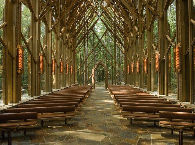 Anthony Chapel, Garvan Woodland Gardens, Hot Springs, Arkansas – Denizhan Mutlay