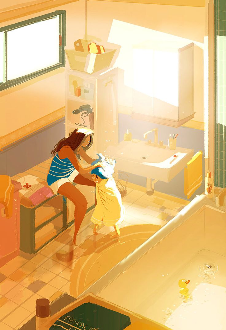 The warmest towel by PascalCampion on DeviantArt