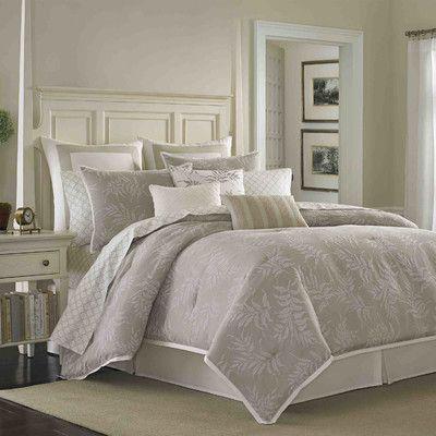 Laura Ashley Home Bracken Leaf Comforter Collection