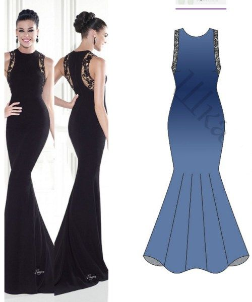 25  best ideas about Evening dress patterns on Pinterest ...