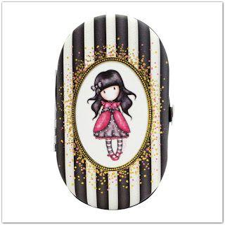 Pinkbagoly: Santoro Gorjuss Stripes manikűr-készlet