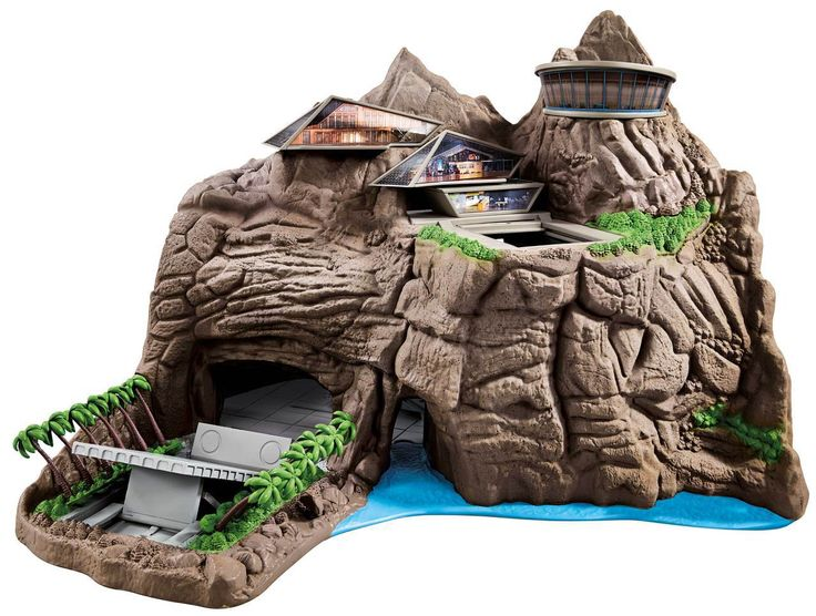 Thunderbirds Toys Interactive Tracy Island Playset | Buy Toys Online | Thunderbirds Toys