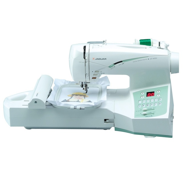 刺しゅうミシン SP-4000|画像をクリックすると製品詳細をご覧いただけます◎  Embroidery Sewing Machine SP-4000|Click image for product details◎ #JAGUAR #sewingmachine #embroidery