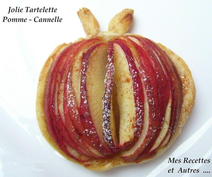 Tartelette Pomme Cannelle