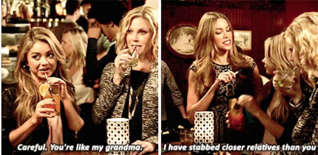 "On being sassed: | 21 Times Gloria From ""Modern Family"" Spoke The Goddam Truth"