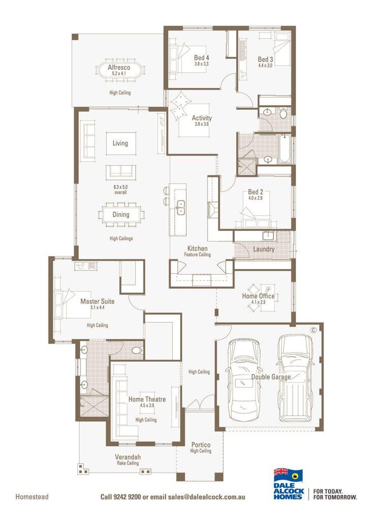 Dale Alcock- Homestead Floorplan